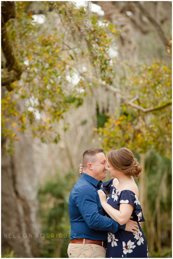 Leu Gardens Engagement Session Heather and Matthew