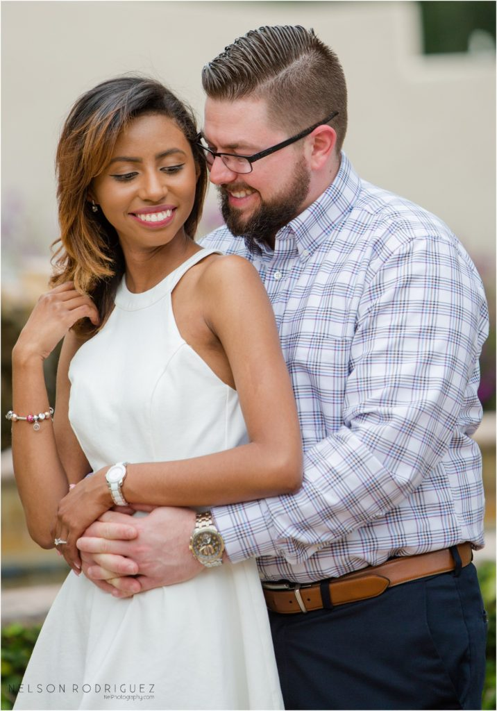 Kraft Azalea Garden Engagement Session | Estefania & Bryce